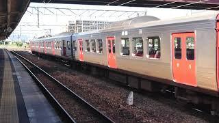 813系RM211 回送列車鹿児島本線鳥栖駅発車