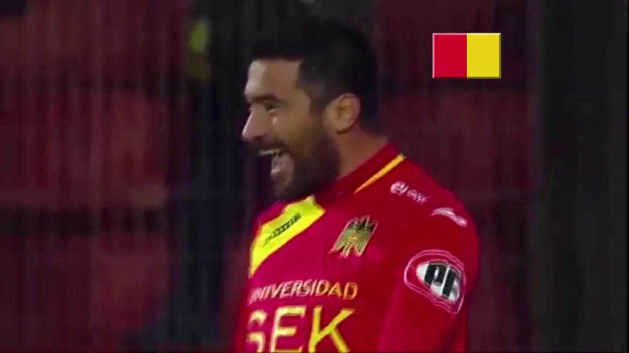 Unión Española 4-0 Unión La Calera - Apertura 2015 - Resumen
