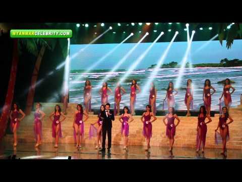 Miss Universe Myanmar 2013 Beauty Pageant