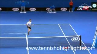 Andy Murray vs Grigor Dimitrov australian Amazing Point open 2015 HD || 25-1-2015