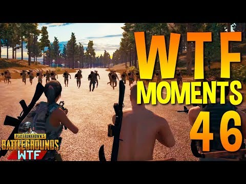 PUBG WTF Funny Moments Highlights Ep 46 (playerunknown\'s battlegrounds Plays)