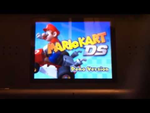 Mario kart DS Demo with action replay codes!
