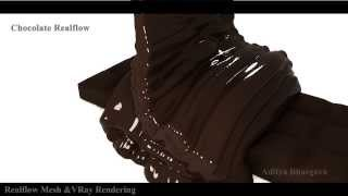 Realflow High Viscosity Chocolate Test