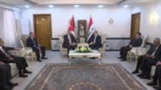 Jordan FM holds talks with counterpart in Baghdad