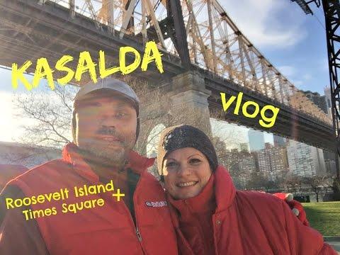 KASALDA - VLOG - ROOSEVELT ISLAND + TIMES SQUARE