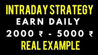 Best Intraday Trading Strategy  India