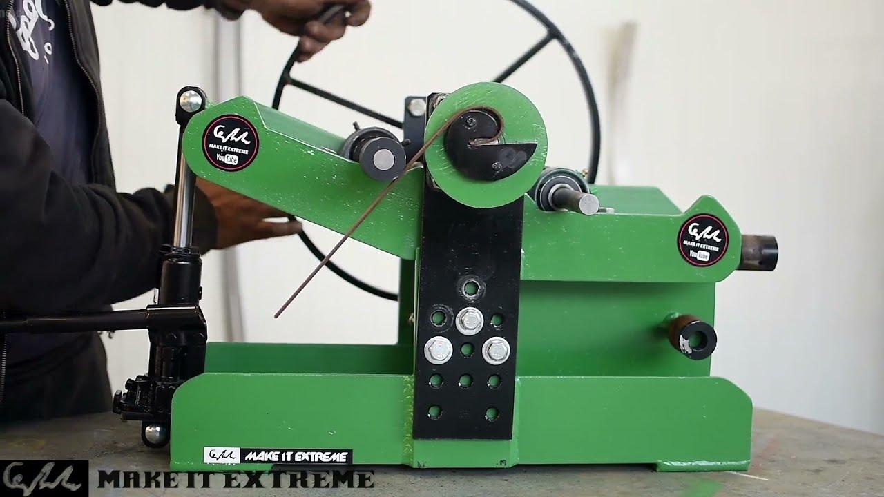 Making a Homemade Roller Bender