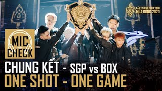 Mic Check Chung Kết: @Saigon Phantom AOV vs Box Gaming - One shot, One game! | ĐTDV mùa Đông 2020