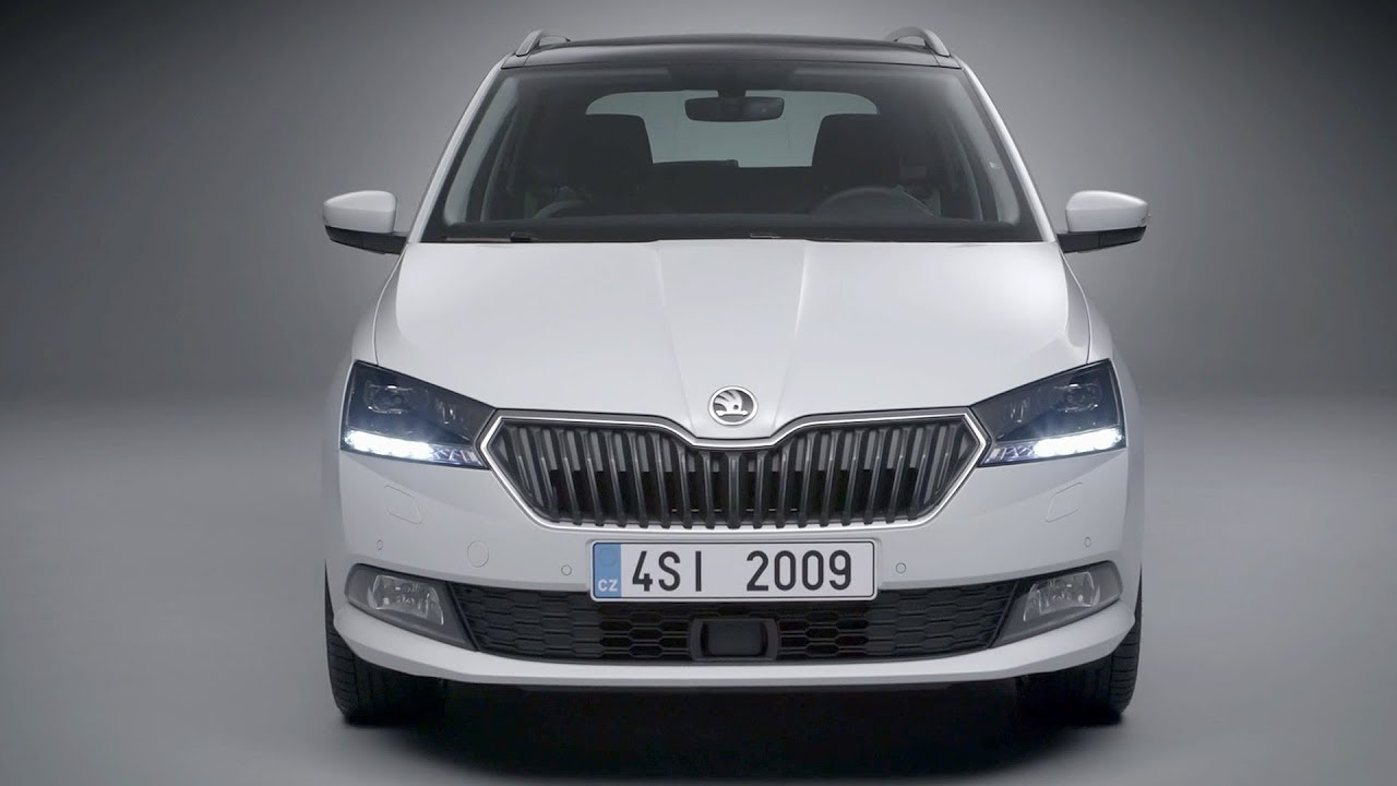 the new skoda fabia combi 2018 facelift exterior interior youtube. Black Bedroom Furniture Sets. Home Design Ideas