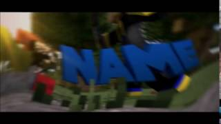 × NEW MINECRAFT iNTRO TEMPLATE × C4D AND AE × BY LUISGAMER