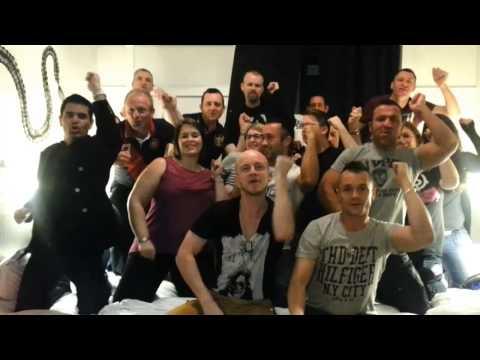 Trashdon in Prague Karaoke Dance Party