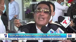 Rinden homenaje a merenguero/Aprueban lectura de presupuesto/Emisión Estelar SIN