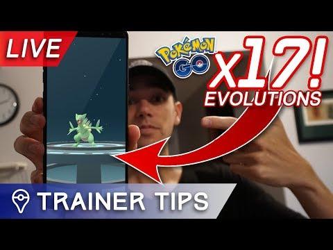 Download Youtube: MASS EVOLVING GEN 3 POKÉMON!! 17 NEW POKÉDEX ENTRIES + Q&A LIVE