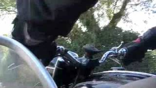 Matchless G80 with sidecar outing