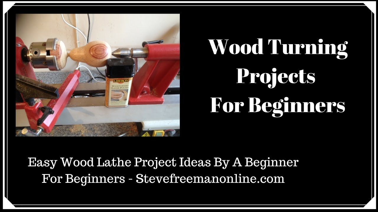 Wood Turning Projects For Beginners Youtube
