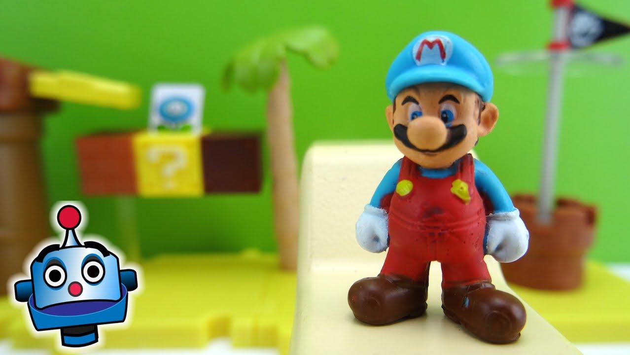 Super Mario Bros U Layer Cake Desert Deluxe Pack Nintendo - Juguetes de  Mario Bros - YouTube b59502df0eb