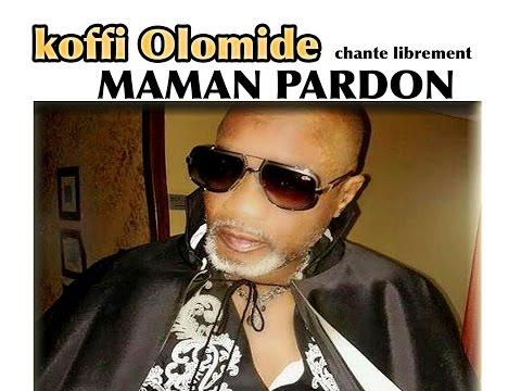 KOFFI OLOMIDE CHANTE LIBREMENT PARDON MAMAN, TOUJOURS DANS LE BON