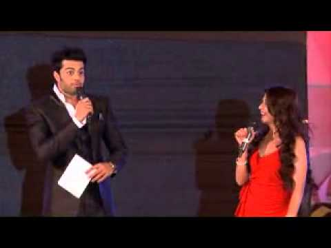 Anchored for Sangeet Sandhya, with Manish Paul