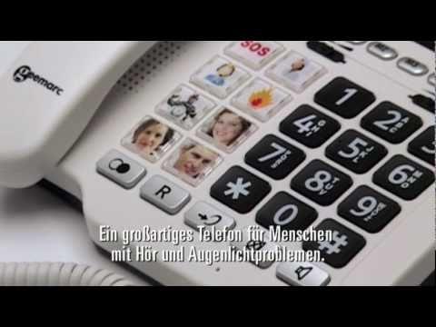 Bildtastentelefon (Geemarc Telecom PHOTOPHONE100)