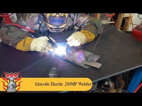 Tig Welding With The Lincoln Electric PowerMig 210MP Welder