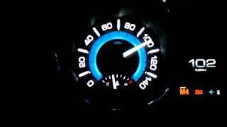 114 MPH!! in a 2012 Turbo Buick lacrosse rental car