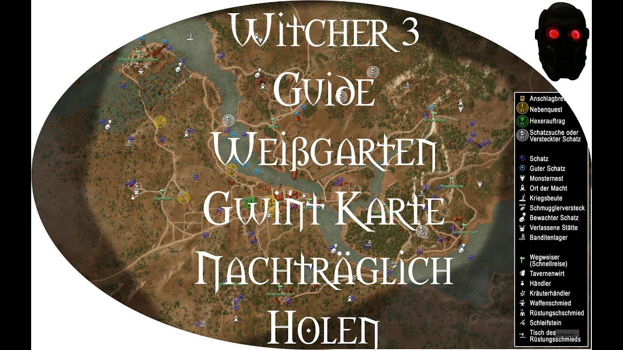 Witcher 3 Velen Karte.Witcher 3 Weissgarten Gwint Karten Nachtraglich Bekommen Guide Gwent Card After White Orchard