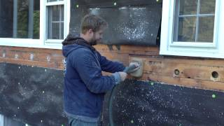 Removing Old Fiberglass Insulation