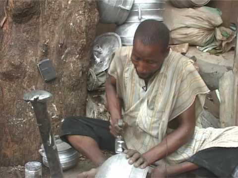 Manufacturing pots from waste Aluminium in Nigeria