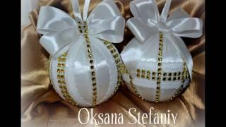 Новогодний шар  своими руками.Игрушка на елку./ Christmas Tree Toy Tutorial /Новорічна куля .