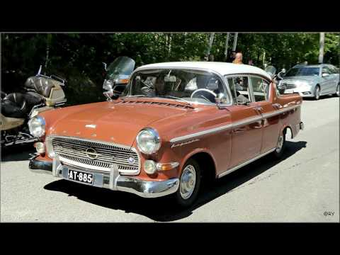 Old cars at Mobilia. Kangasala Finland