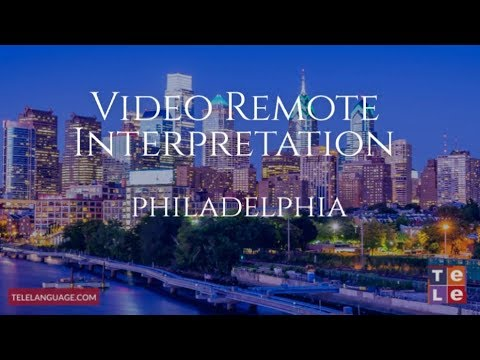 Video Interpreting Services Philadelphia | Telelanguage