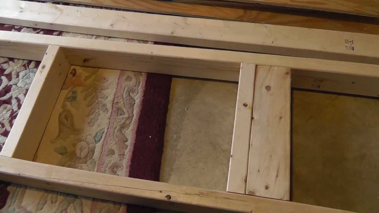 Building 2 X 4 And Plywood Utility Shelves Cheap Easy