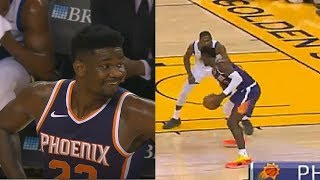 DeAndre Ayton Shows Kevin Durant He Can't Be Guarded! Warriors vs Suns