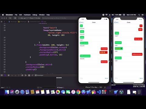 Simple Chat Messenger In SwiftUI - Chat App Using Firebase In SwiftUI - Chat App In SwiftUI - Part 1