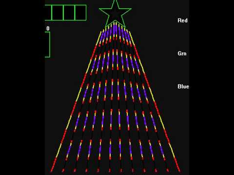 5 for $100.00 LIGHTORAMA CCR  SEQUENCES for 12 or 16 CCR PIXEL TREE Sequences