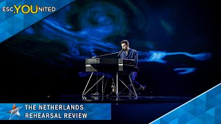 The Netherlands: Duncan Laurence   Arcade   First Rehearsal Reaction   Eurovision 2019