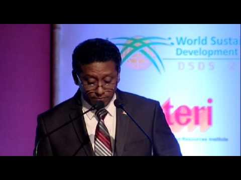DSDS 2014: HE Mr Danny Faure, Vice President, Republic of Seychelles