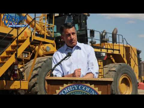 Breaking Ground on State Route 439- USA Parkway, June 2016