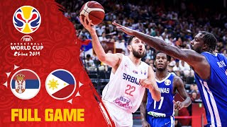 Serbia ROUT the Philippines! - Full Game - FIBA Basketball World Cup 2019