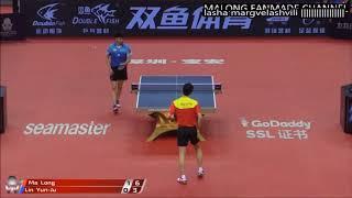 Lin Yun Ju Vs Ma Long (China Open 2018)