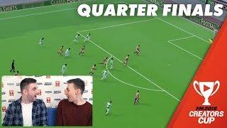 Quarter Final Highlights | Creators Cup Football Manager 2018 Fantasy Draft Cup