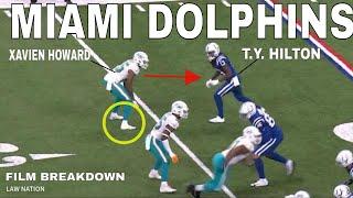 Miami Dolphins Xavien Howard vs WRs Observations