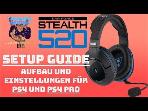 Turtle Beach Stealth 520 Chat Setup / Aufbau Und Einstellungen