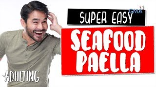 Adulting with Atom Araullo: How to cook super easy Paella | GMA One