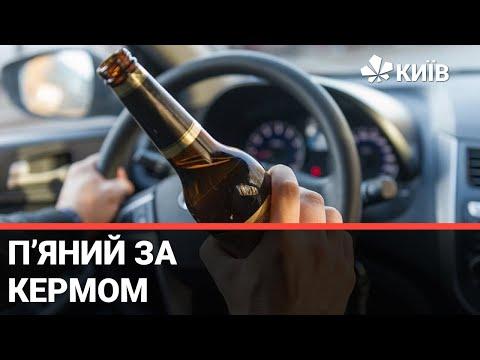 Телеканал Київ: Керування автомобілем у стані сп'яніння: нова відповідальність