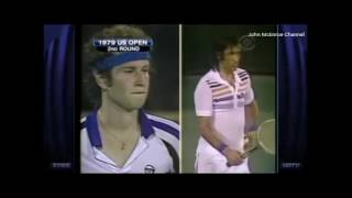 Ilie Nastase vs McEnroe US Open 1979 - Highlights