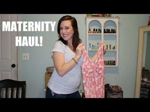 HUGE MATERNITY HAUL!! (Destination Maternity, Motherhood, Gap, & More)