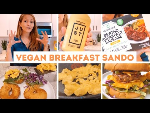 Epic Vegan Breakfast Sandwich (So Good!!)