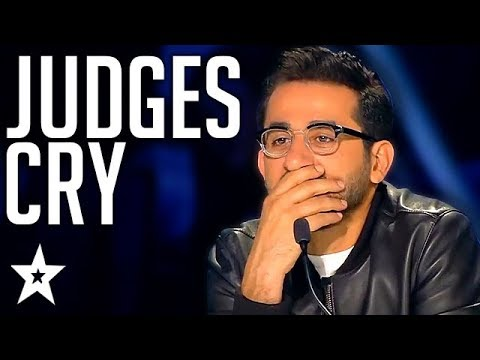 POWERFUL Art Act Makes Everyone CRY On Arab's Got Talent 201