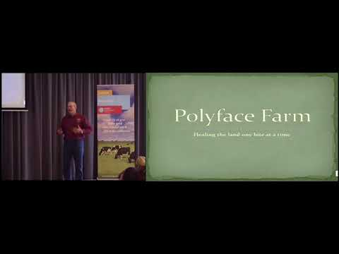 Joel Salatin - Grazing for carbon - @Aeres Hogeschool Dronten